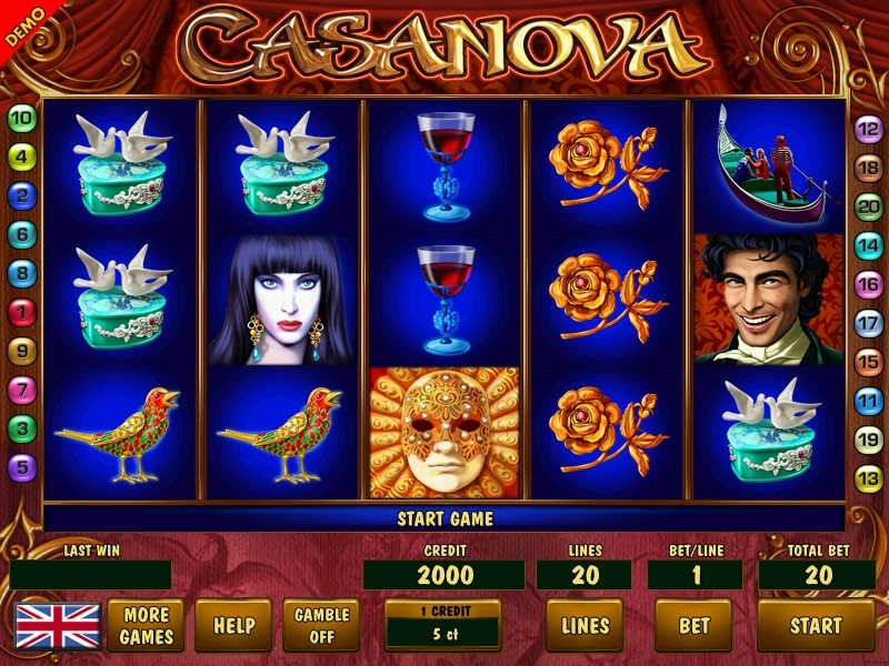 Casanova Game