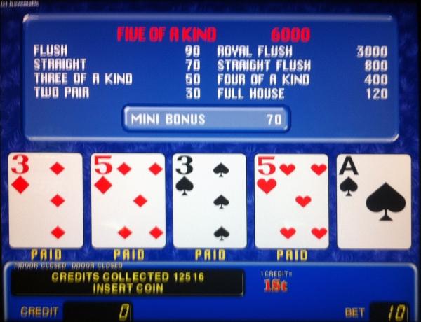 american poker 2 slot